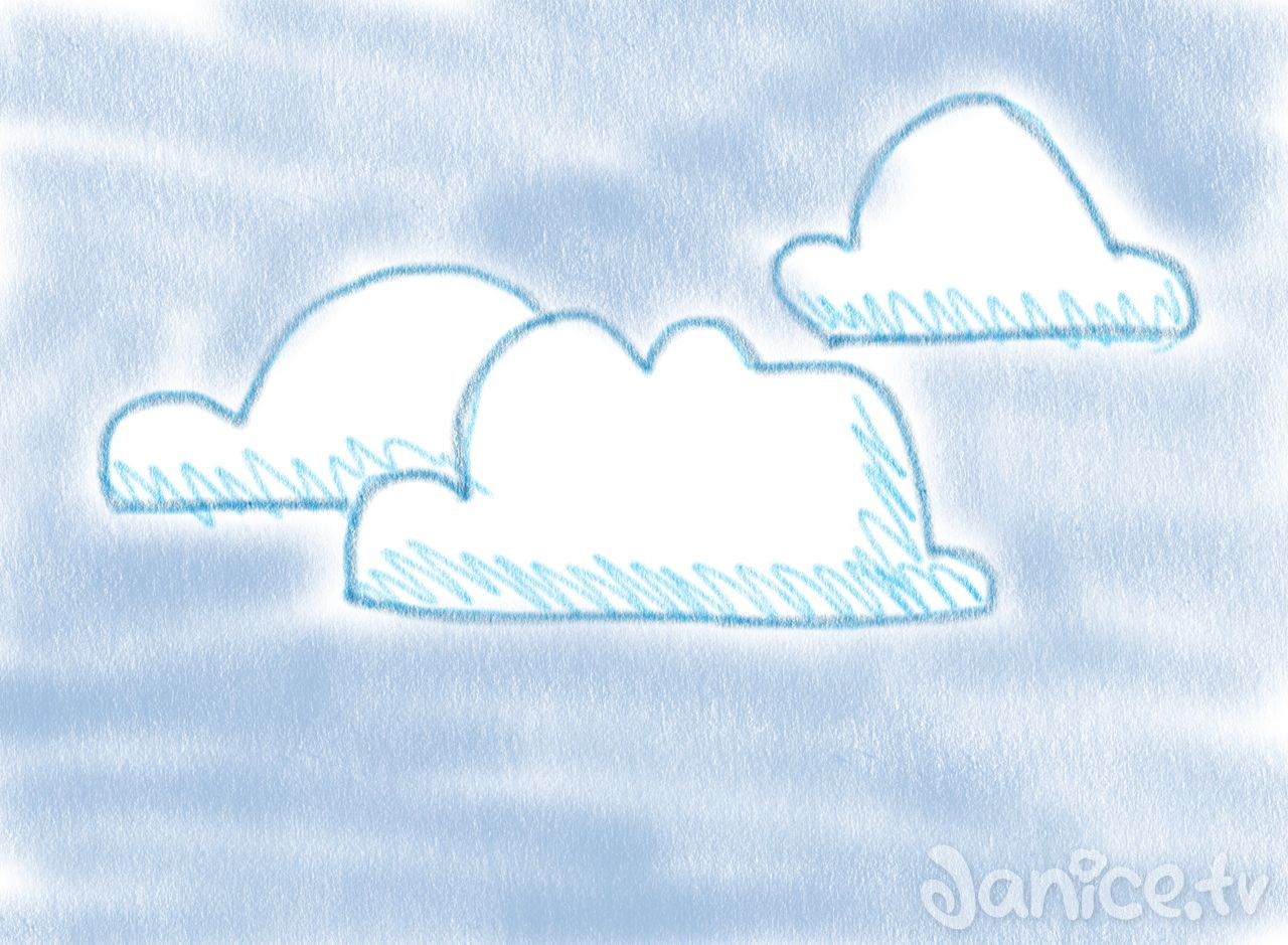 illustration wolken 14