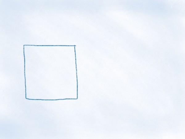 Viereck auf der linken Seite