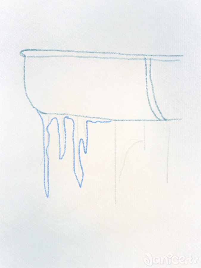 Eiszapfen zeichnen teil 1 – 06