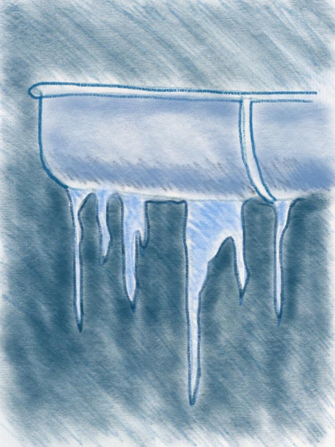 Eiszapfen zeichnen teil 1 – 13