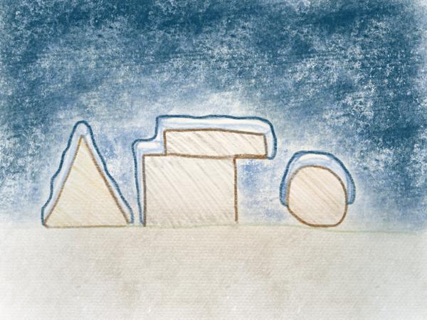 Winter Schnee zeichnen teil 1 – 8