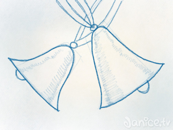 Weihnachtsglocken zeichnen - 3Minuten Kreativkurs (mit Fleißarbeit ...