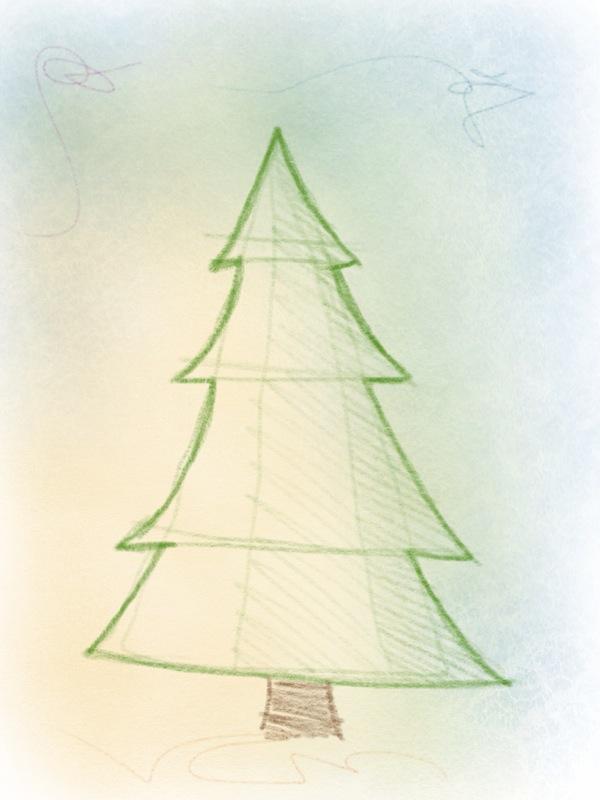 weihnachtsbaum tannenbaum zeichnen so geht 39 s. Black Bedroom Furniture Sets. Home Design Ideas