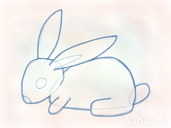 Hase zeichnen leicht gemacht (Mit Fleißarbeit) - Janice.tv