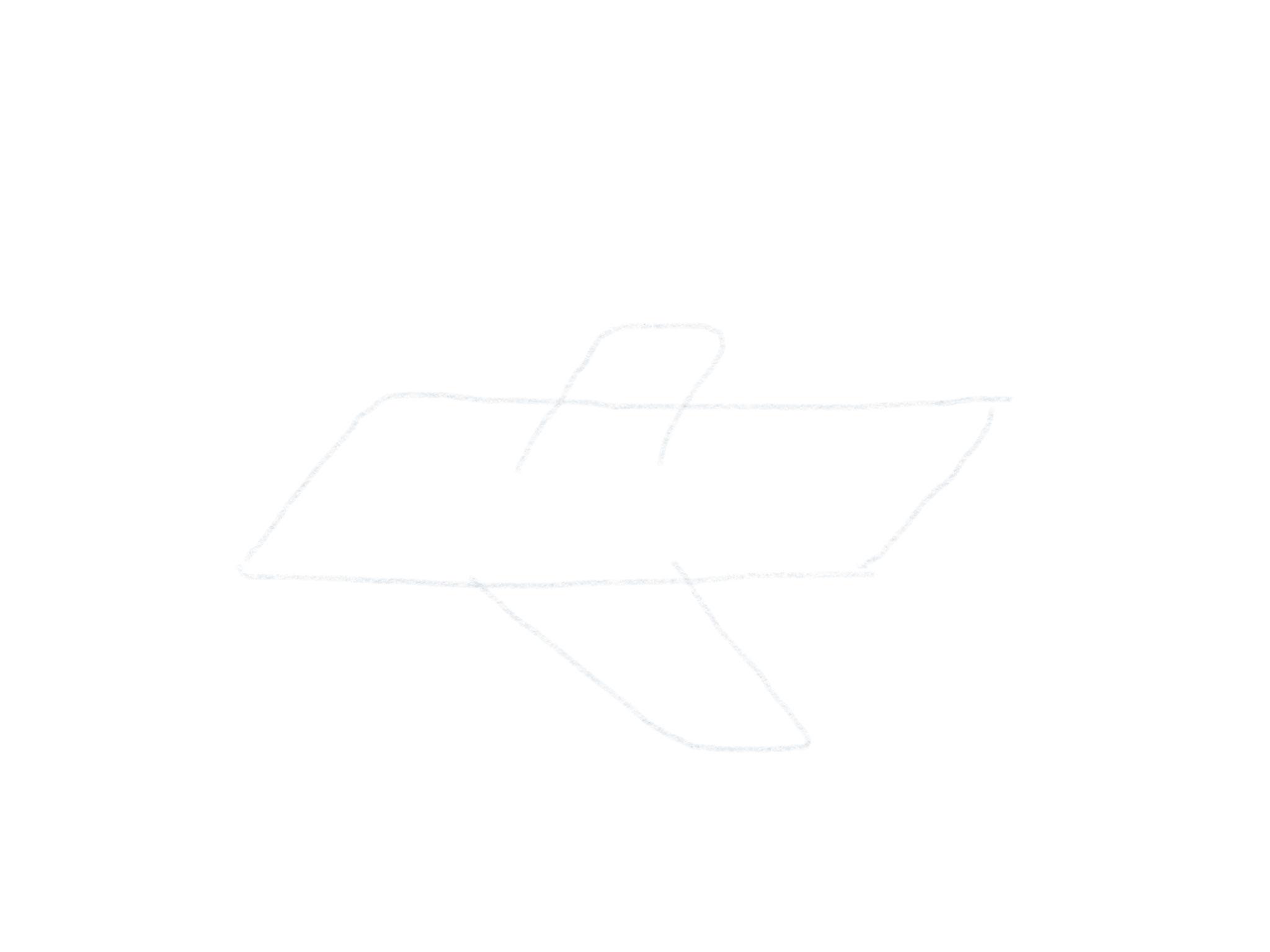 Flugzeug Zeichnen Seitenfluegel2