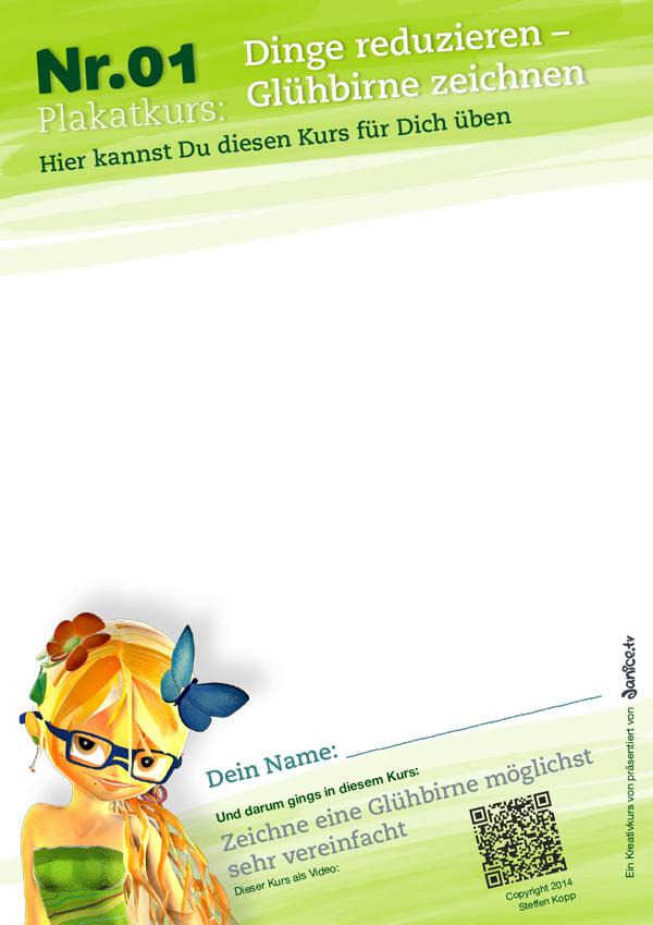 uebungsblatt plakat nr01