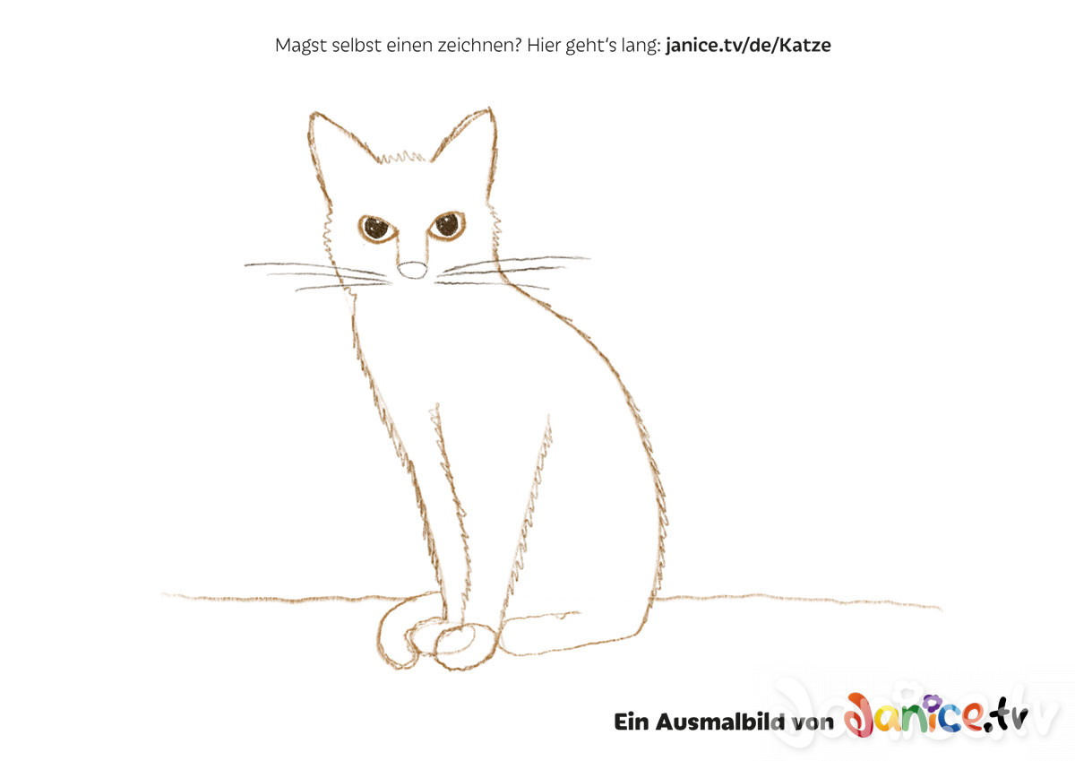 Ausgezeichnet Katzenkopf Malvorlage Ideen - Framing Malvorlagen ...