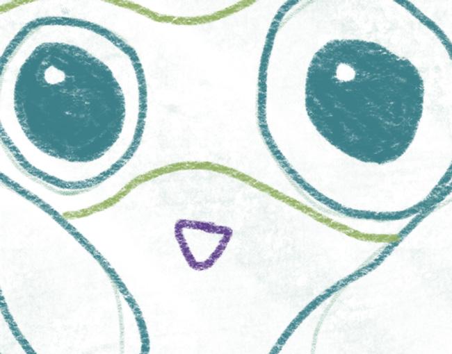 Eule_zeichnen_nase
