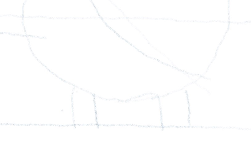 Hubschrauber zeichnen - Landegestell 1