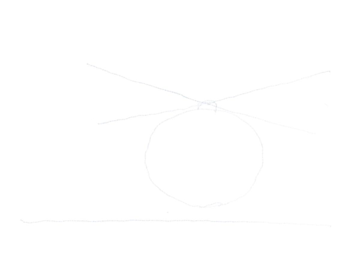 Hubschrauber zeichnen -Rotorblätter