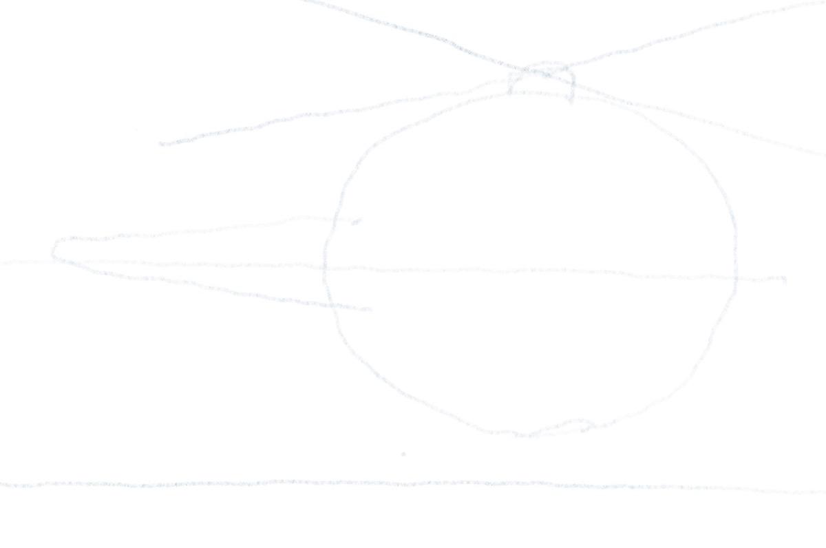 Hubschrauber zeichnen - Höhenleitwerk