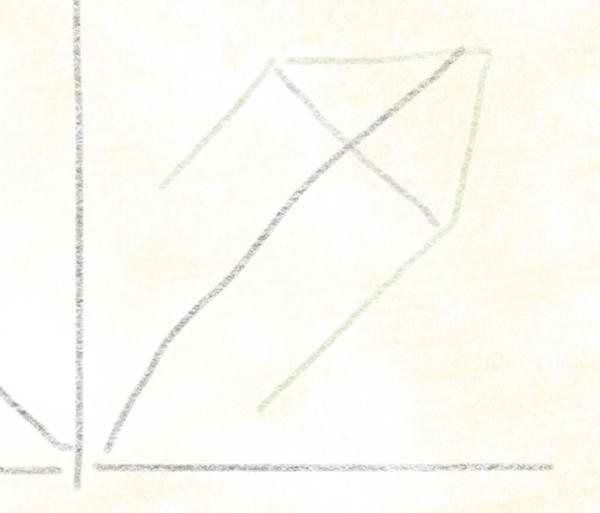 Kastanienblatt zeichnen – 05
