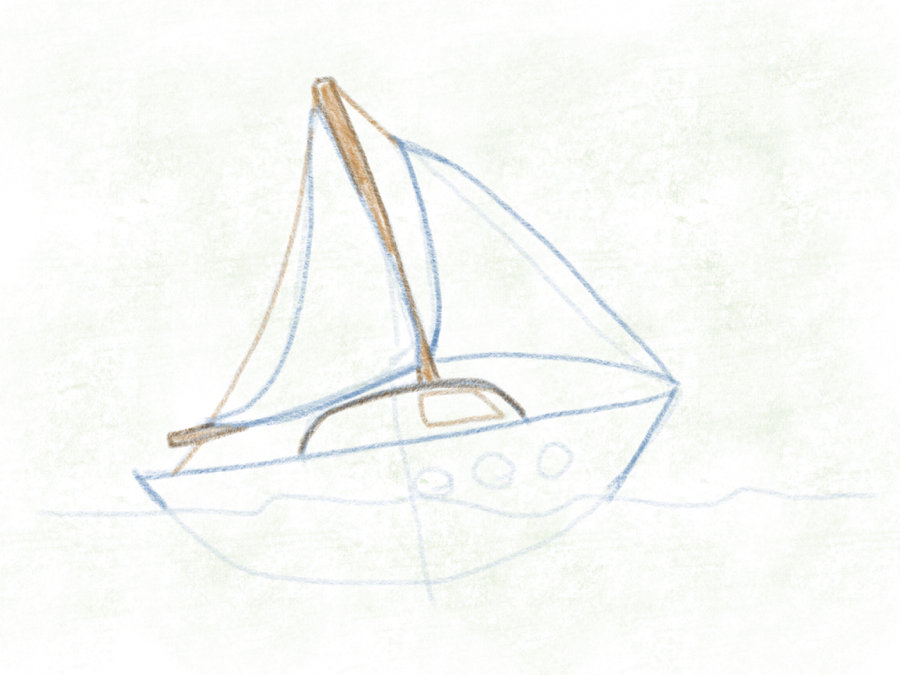 segelboot – 14